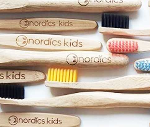 Nordics, the ecological or biodegradable bamboo toothbrush